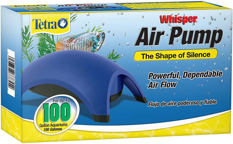 best air pump for freshwater fish tank aquarium whisper air pump reviews